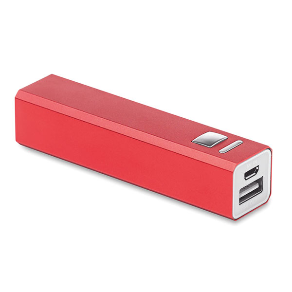 Power Bank MO8602-05 POWERALU, красный