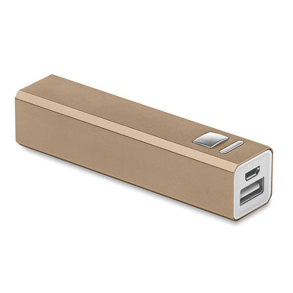 Power Bank MO8602-19 POWERALU, шампанское