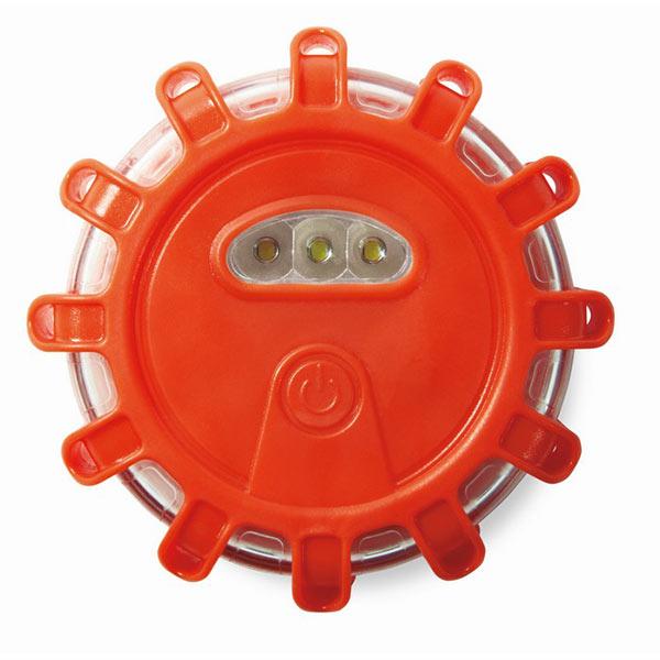 Фонарь аварийный MO8678-10 5LIGHTS, оранжевый