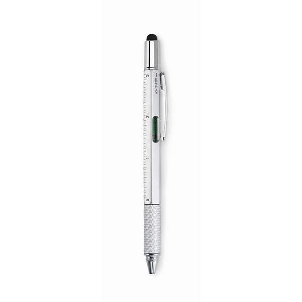 Ручка-стилус MO8679-16 TOOLPEN, матовое серебро