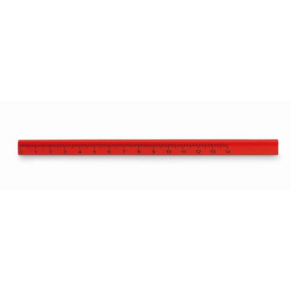 Карандаш столяра MO8686-05 MADEROS, красный