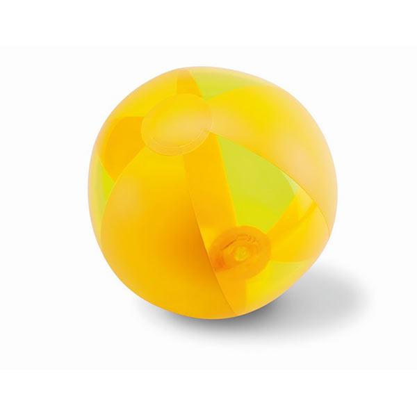 Мяч пляжный MO8701-08 AQUATIME, желтый