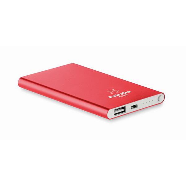 Аккумулятор MO8735-05 POWERFLAT, красный