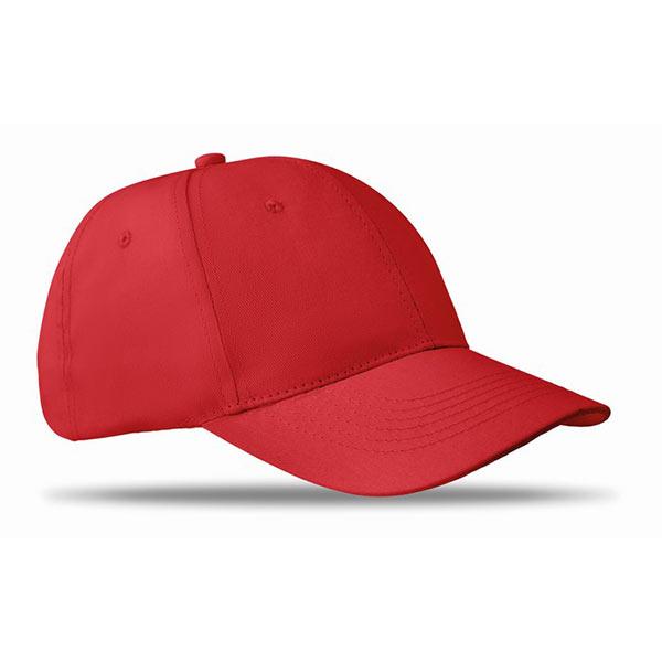 Бейсболка MO8834-05 BASIE, красный