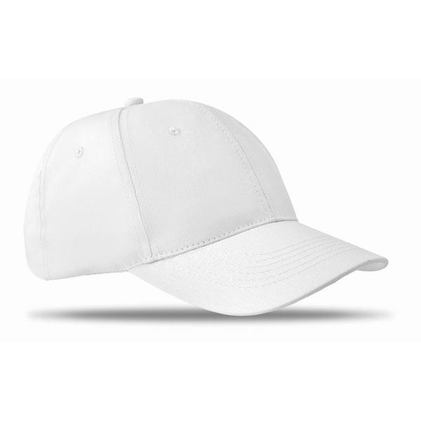 Бейсболка MO8834-06 BASIE, белый