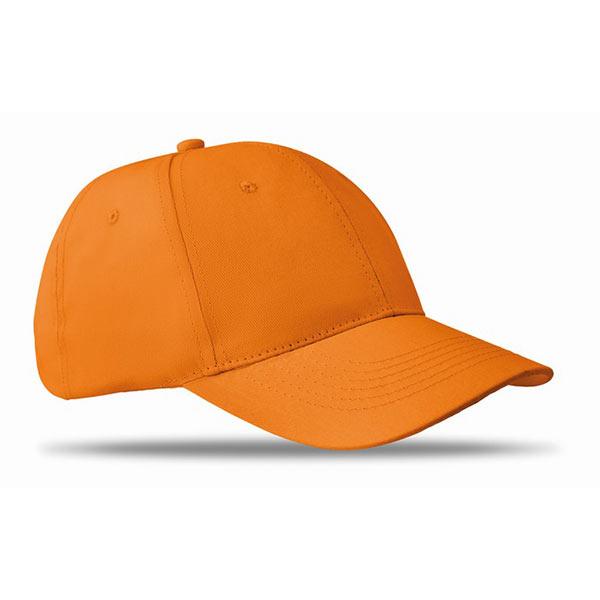 Бейсболка MO8834-10 BASIE, оранжевый
