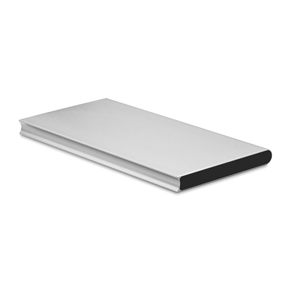 Аккумулятор на 8000 mAh MO8839-16 POWERFLAT8, матовое серебро