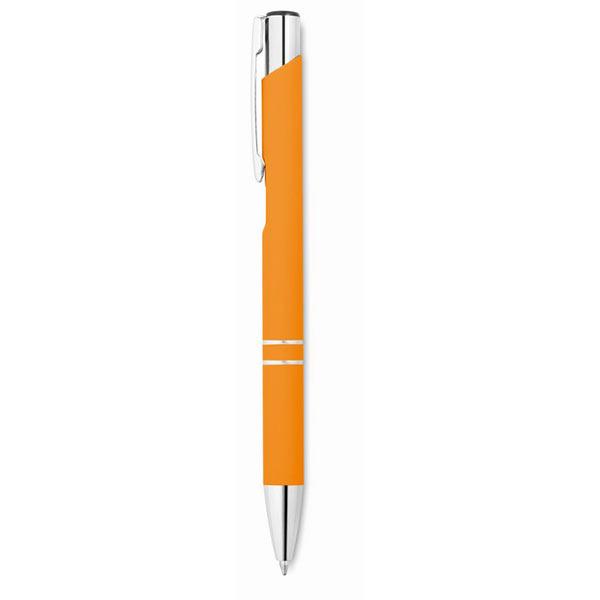 Ручка шариковая MO8857-10 AOSTA, оранжевый