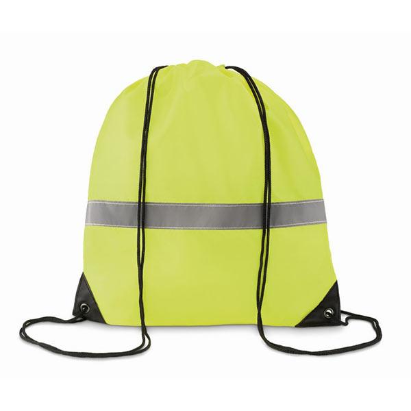 Рюкзак светоотражающий MO8868-70 STRIPE, флуоресцентный желтый