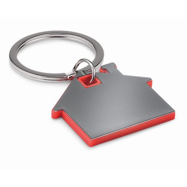 Брелок домик MO8877-05 IMBA, красный