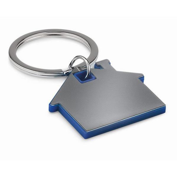 Брелок домик MO8877-37 IMBA, темно-синий