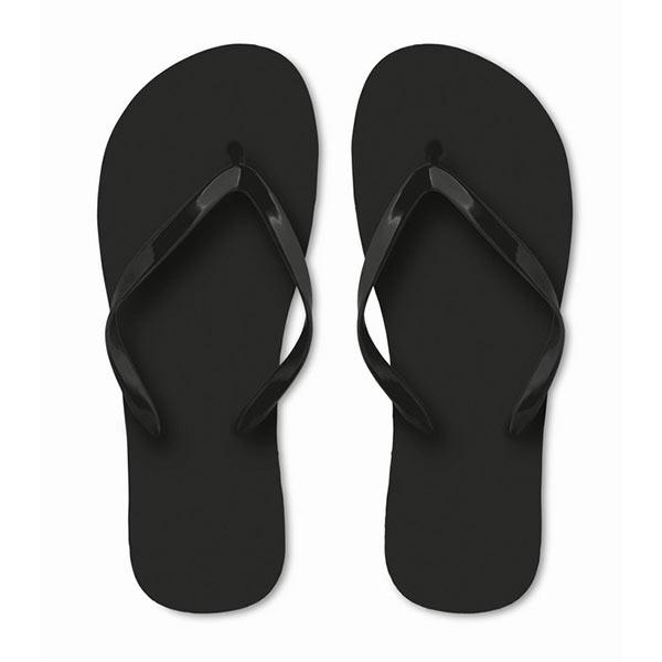 Тапочки пляжные MO9082-03-L HONOLULU, черный