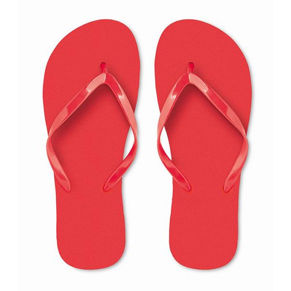 Тапочки пляжные MO9082-05-L HONOLULU, красный