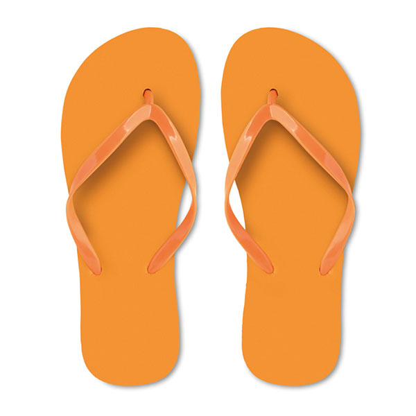 Тапочки пляжные MO9082-10-L HONOLULU, оранжевый