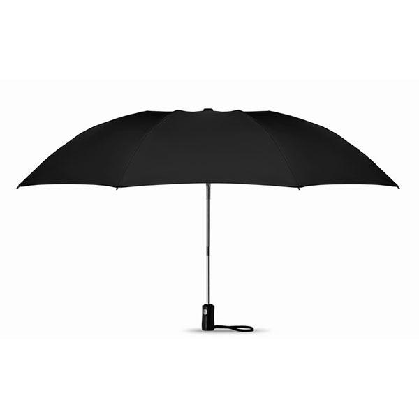 Складной реверсивный зонт MO9092-03 DUNDEE FOLDABLE, черный