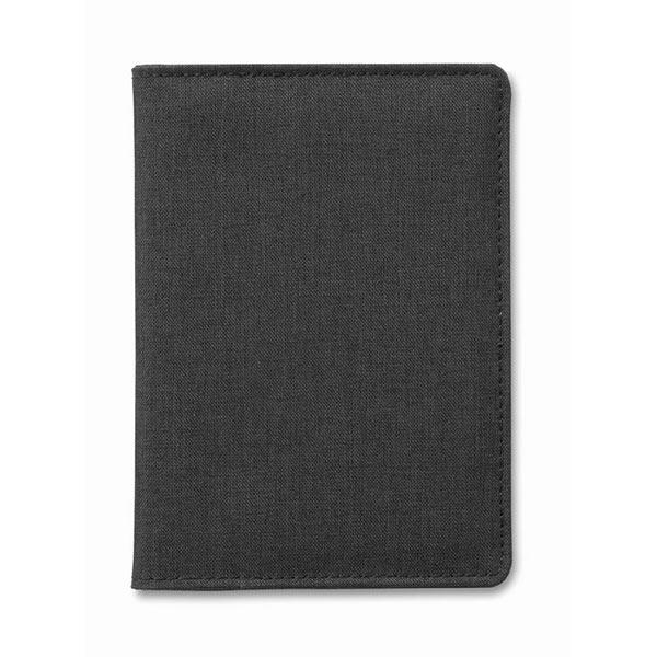 Чехол для паспорта MO9107-03 SHIELDOC, черный