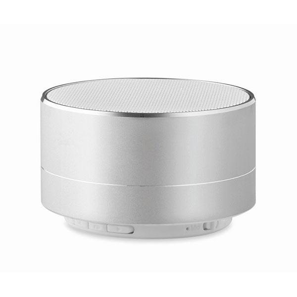 Bluetooth колонка MO9155-16 SOUND, матовое серебро