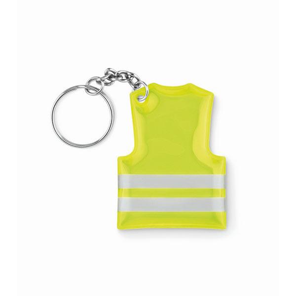 Брелок MO9199-70 VISIBLE RING, флуоресцентный желтый