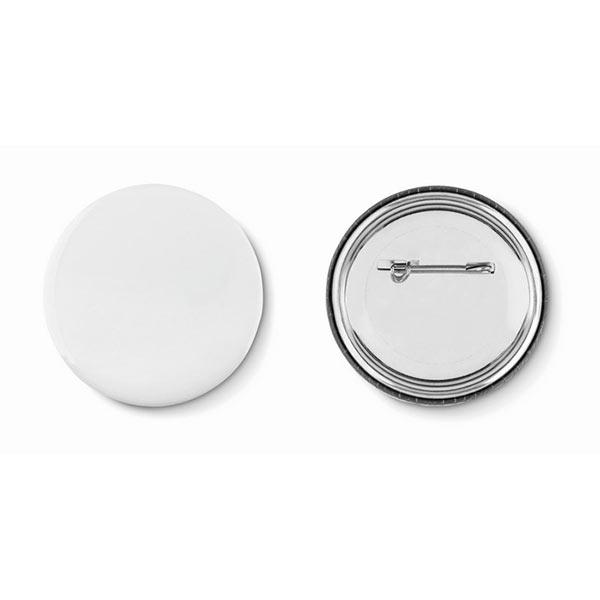 Значок MO9330-16 PIN, матовое серебро