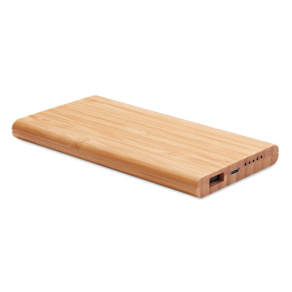 Аккумулятор б/п из бамбука MO9662-40 ARENA, дерево