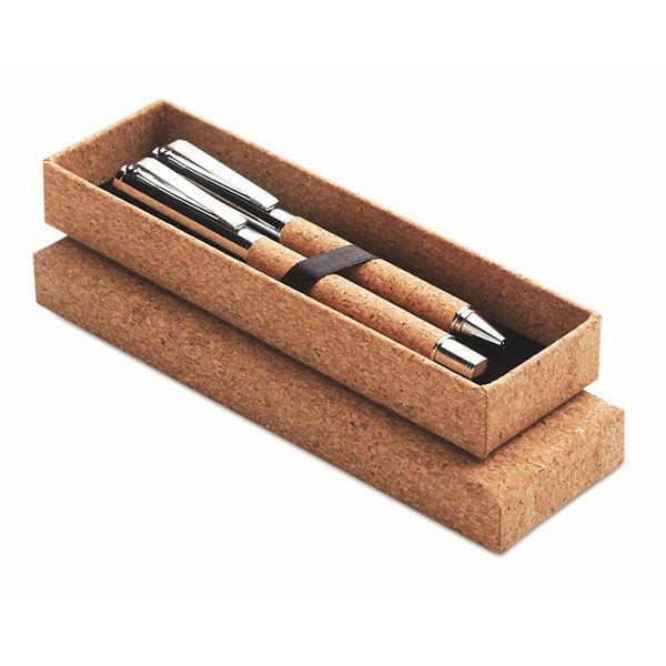 Набор ручек в коробке MO9678-40 QUERCUS, дерево