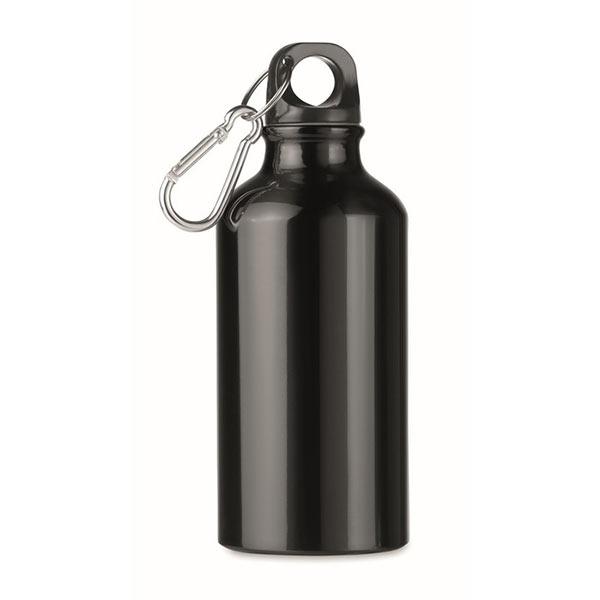 Фляга алюминиевая 400 мл MO9805-03 MID MOSS, черный