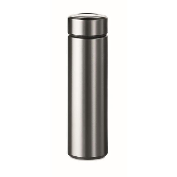 Термос двустенчатый. 425 мл MO9810-16 PATAGONIA, матовое серебро