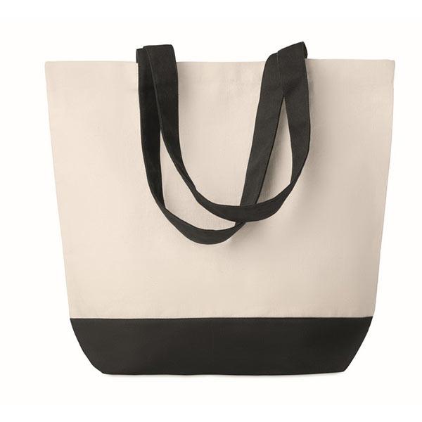 Холщовая пляжная сумка 170г/м2 MO9816-03 KLEUREN BAG, черный