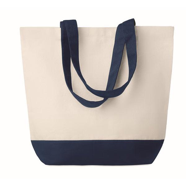 Холщовая пляжная сумка 170г/м2 MO9816-04 KLEUREN BAG, синий