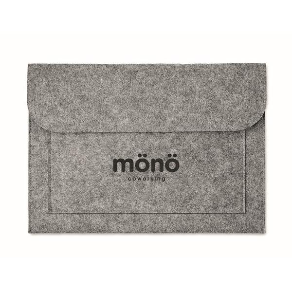 Чехол для ноутбука из фетра MO9818-07 POUCHLO, Серый