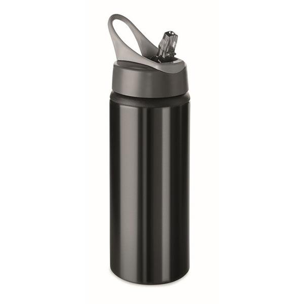 Фляга алюминиевая 600мл MO9840-03 ATLANTA, черный