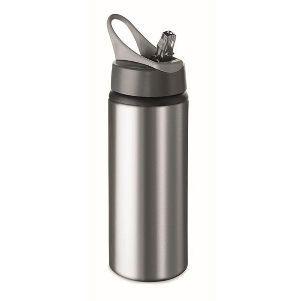 Фляга алюминиевая 600мл MO9840-16 ATLANTA, матовое серебро