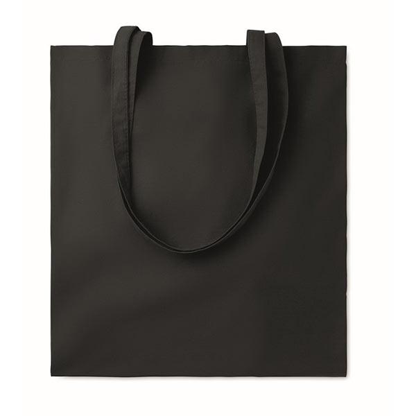 Хлопковая сумка 180гр / м2 MO9846-03 COTTONEL COLOUR ++, черный