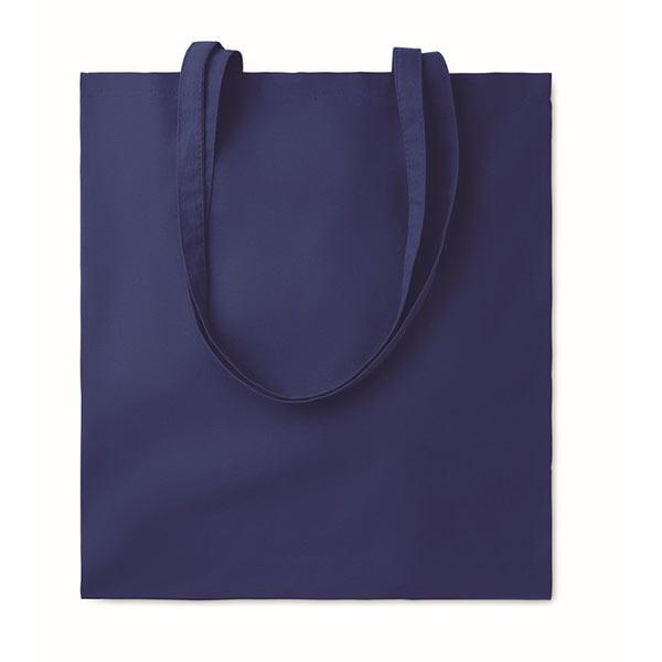 Хлопковая сумка 180гр / м2 MO9846-04 COTTONEL COLOUR ++, синий