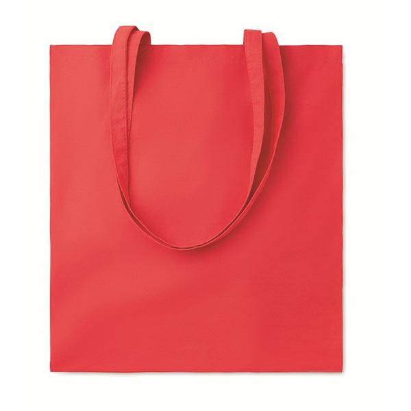 Хлопковая сумка 180гр / м2 MO9846-05 COTTONEL COLOUR ++, красный