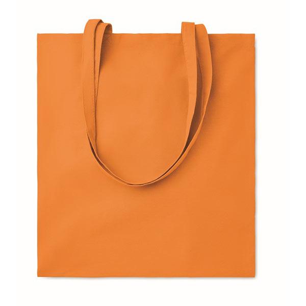 Хлопковая сумка 180гр / м2 MO9846-10 COTTONEL COLOUR ++, оранжевый
