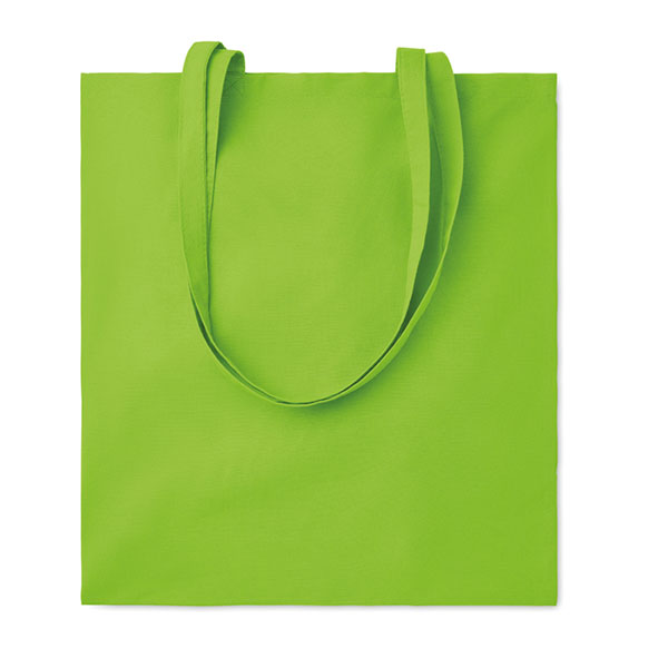 Хлопковая сумка 180гр / м2 MO9846-48 COTTONEL COLOUR ++, Лайм