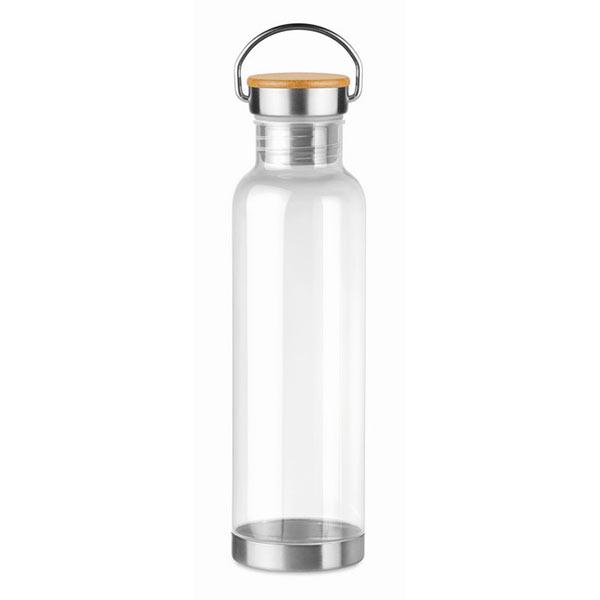 Бутылка 800мл. Бамбуковый топ MO9850-22 HELSINKI BASIC, прозрачный