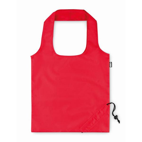 Складная сумка для покупок MO9861-05 FOLDPET, красный