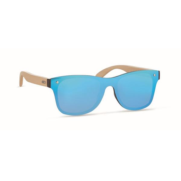 Солнцезащитные очки сплошные MO9863-04 ALOHA, синий