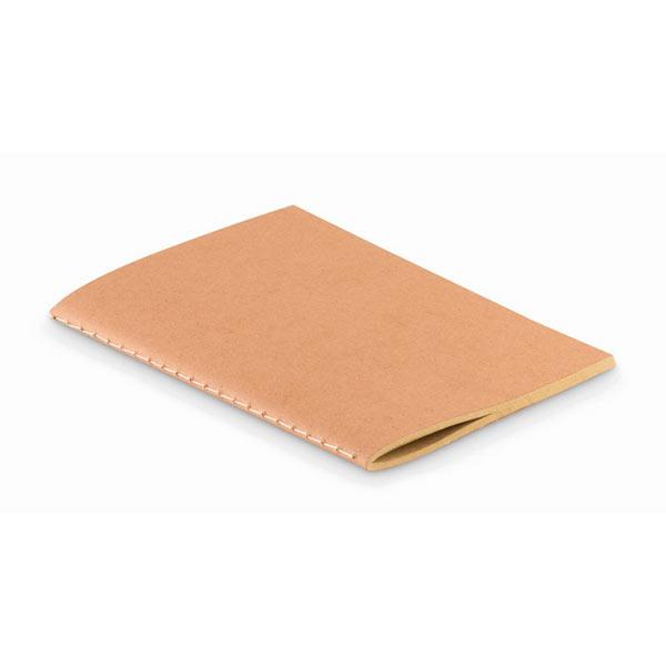 Блокнот из картона А6 MO9868-13 MINI PAPER BOOK, бежевый