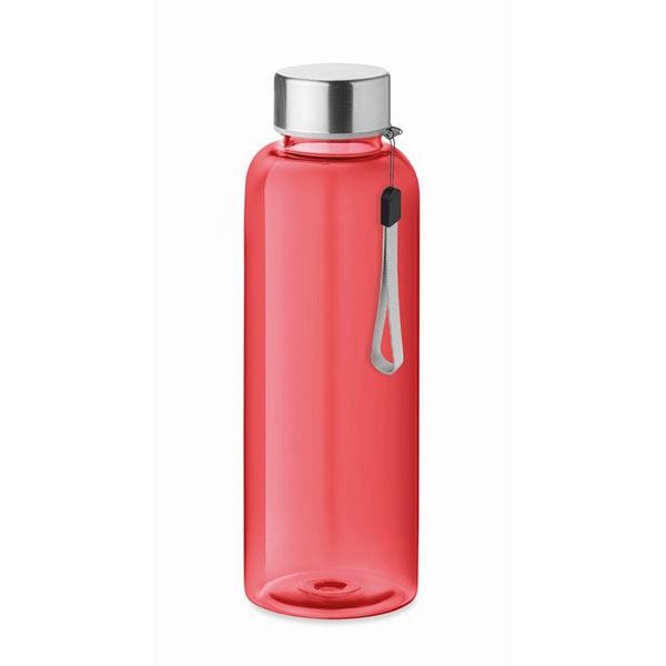 RPET bottle 500ml MO9910-25 UTAH RPET, прозрачный красный