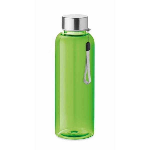 RPET bottle 500ml MO9910-51 UTAH RPET, прозрачный лайм