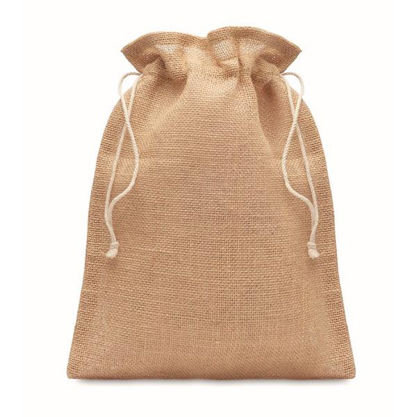 Маленькая сумка 14 х 22 см MO9928-13 JUTE SMALL, бежевый