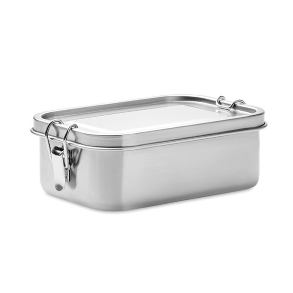 Ланч-бокс MO9938-16 CHAN LUNCHBOX, матовое серебро