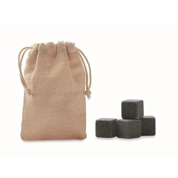 Камни для виски MO9943-13 ROCKS, бежевый