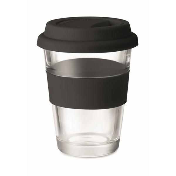Стеклянный стакан 350 мл MO9992-03 ASTOGLASS, черный