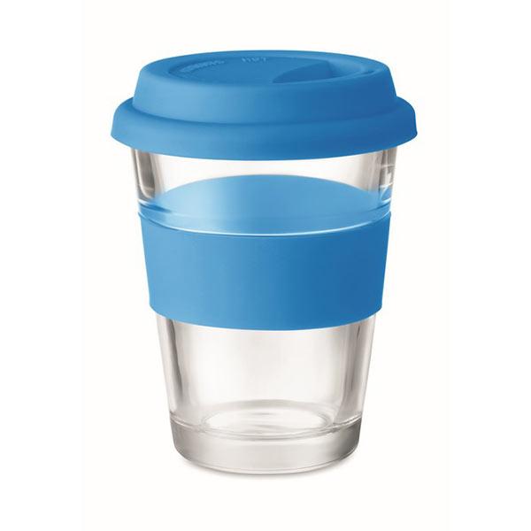 Стеклянный стакан 350 мл MO9992-04 ASTOGLASS, синий